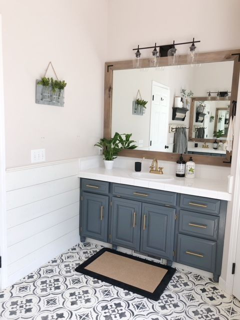 88 Glamour Farmhouse Bathroom Decor Ideas On A Budget