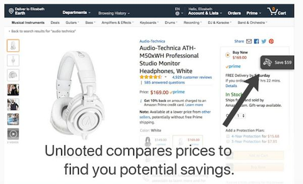 Find the Best Prices on Amazon vs eBay with Unlooted Chrome