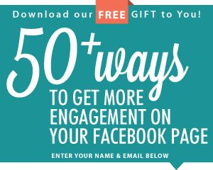 """One of the questions I get asked the most is, """"how do I find content to post on a regular basis on Facebook?""""  I'm excited to share with you, """"50+ Ways To Get More Engagement On Your Facebook Page.""""   http://ibloom.co/blog/50-ways-to-get-more-engagement-on-your-facebook-page/"""