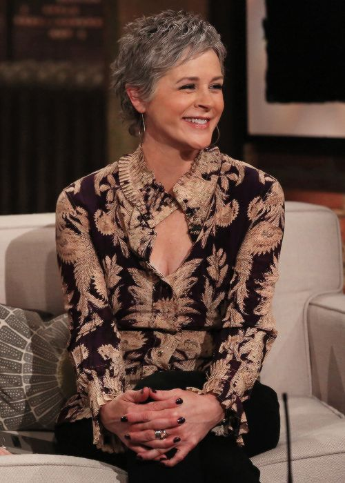 Fuck Yeah The Walking Dead, dailytwdcast: Melissa McBride during Talking...
