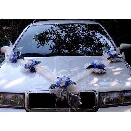"""Výzdoba svatebního auta- """"Romance s hortenzií"""""""