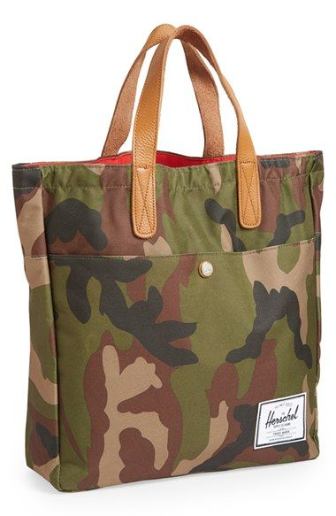 Free shipping and returns on Herschel Supply Co. 'Brohm' Canvas Tote at Nordstrom.com. A crisp logo patch and richly grained leather handles refine a spacious, workwear-inspired tote cast in durable canvas.