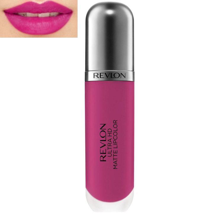 Το Ultra HD Matte Lip Color από τη Revlon είναι το υγρό κραγιόν που έχει υψηλή απόδοση χρώματος και ματ αποτέλεσμα! Έχει ελαφριά σύνθεση , 100% wax-free gel φόρμουλα και το applicator του χαρίζει βελούδινη και ενυδατωμένη αίσθηση στα χείλη. Τα εκχυλίσματα από μάνγκο και βανίλια, προσθέτουν ένα