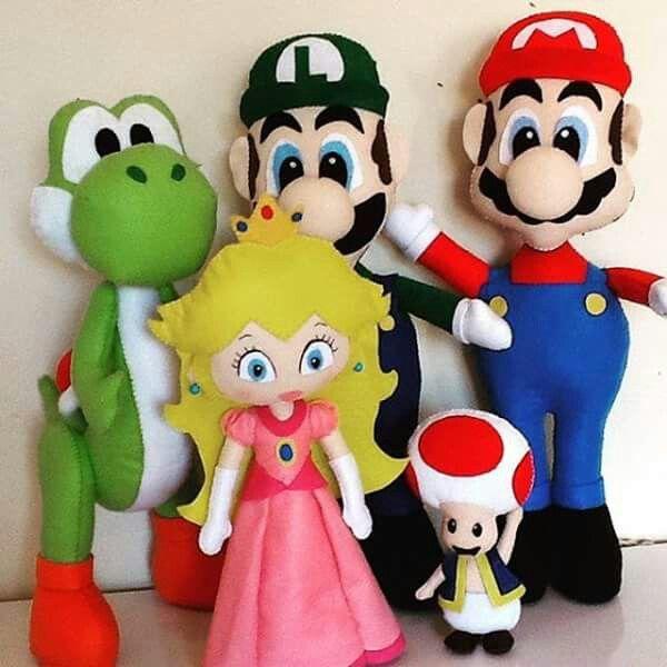Mario bros patchwork