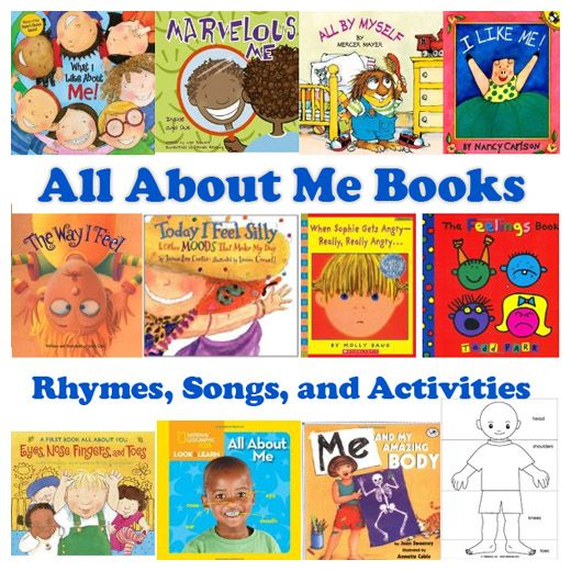 Use All About Me books, rhymes, songs, and activities to provide your preschool…