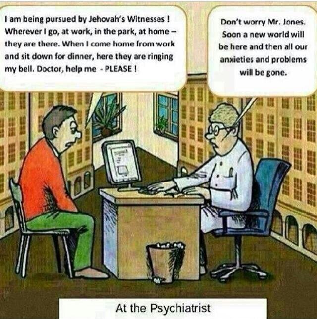 Jehovah's Witness humor