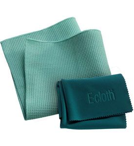 For streak free and sparkling windows use the 2 Pack Window Washing And Polishing Cloth. This window washing set comes with one waffle style cloth that removes dirt and grime from the inside and outside of windows and frames. One polishing cloth dries windows to a sparkling and smear free finish. The 2 Pack Window Wash