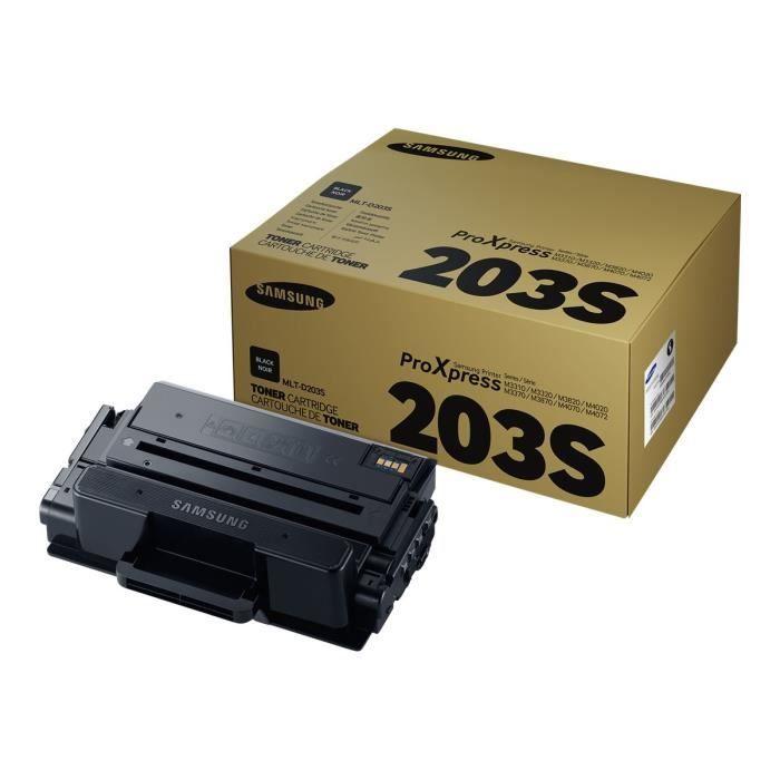 Cartouche de toner noir Samsung MLT-D203S (SU907A) pour M3320/M3370/M3820/M3870/M4020/M4070