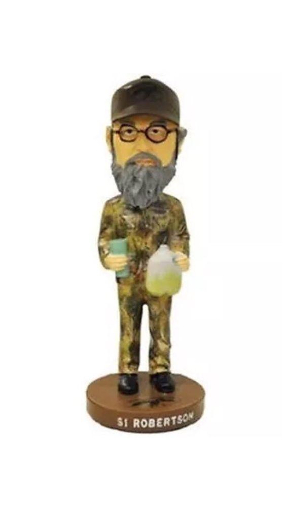 Duck Commander Bobble Head (Si Robertson) Duck Dynasty - Brand New  | eBay