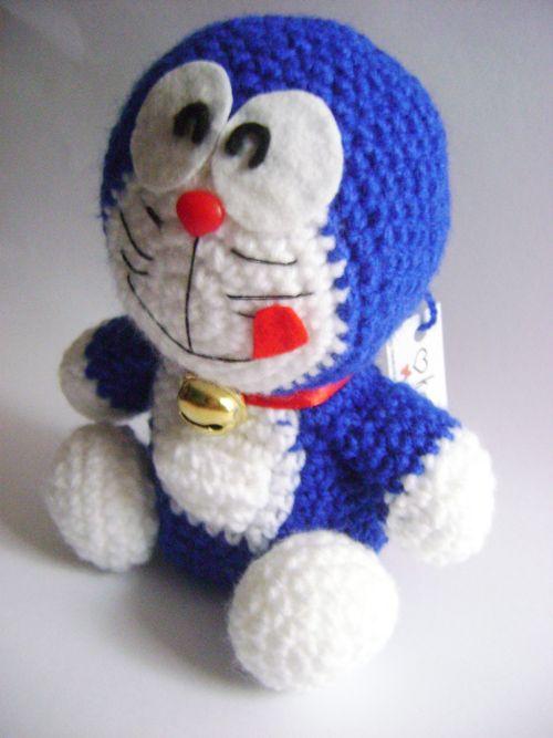 Amigurumi Doraemon Tutorial : Doraemon amigurumi Encuentrame en https://www.facebook.com ...