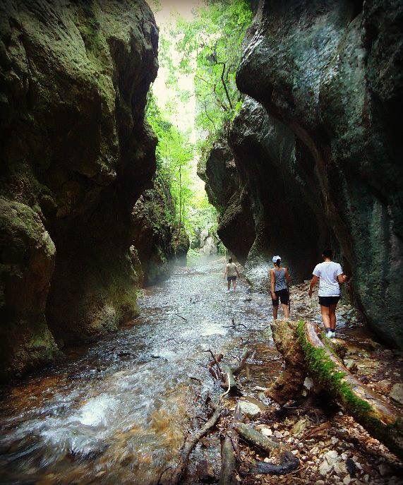Gole del fiume Fiastrone, Monti Sibellini