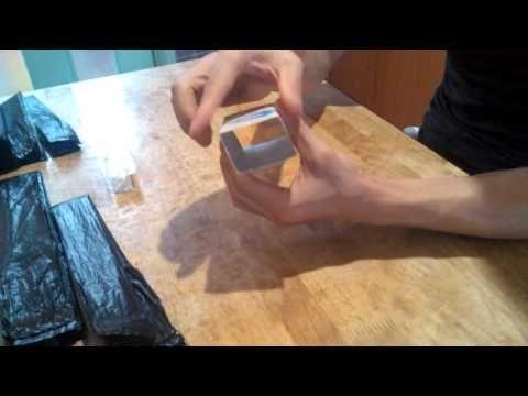 비닐봉투 간단 정리법 - YouTube