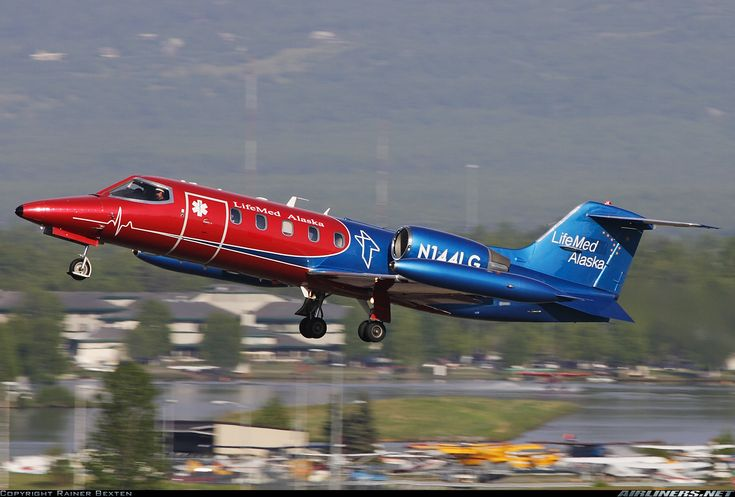 Gates Learjet 35A/ZR - Providence Alaska Medical Center - LifeGuard | Aviation Photo #1543677 | Airliners.net