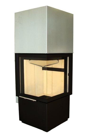Wkład kominkowy Smart 2Ph - Hajduk #fireplace #fireside #modern #home #piecyk #kominek #piec #ogrzewanie #nowoczesny
