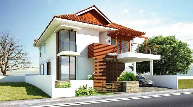 Piękny dom stylizowany drewnianymi elementami. Jeśli interesują Cię ciekawe projekty domów jednorodzinnych - skontaktuj się z nami teraz!