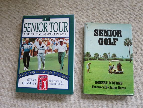 Vintage Senior Golf Book and Senior Tour by BonniesVintageAttic