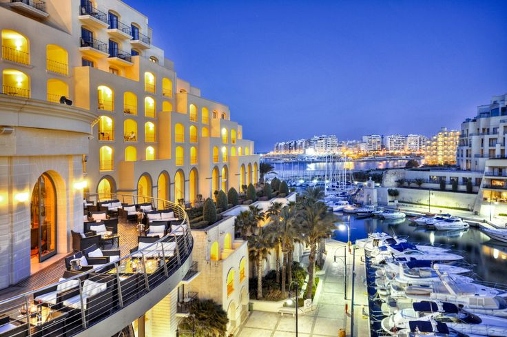 Exterior of the Hilton, Malta