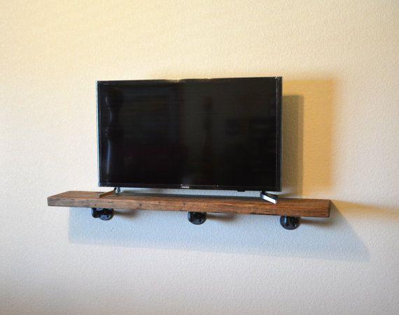 25 best ideas about tv shelf on pinterest wood floating. Black Bedroom Furniture Sets. Home Design Ideas