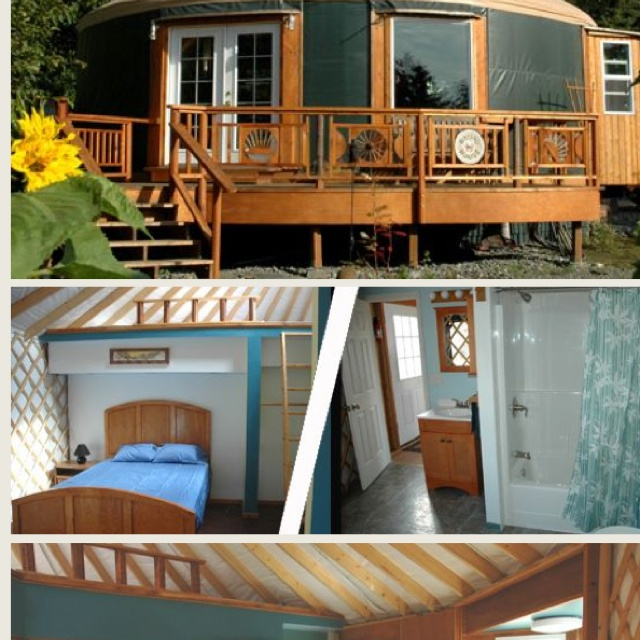 293 Best Yurts To Die For Images On Pinterest Yurts