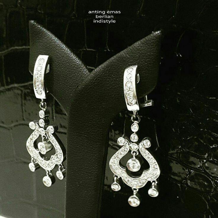 New Arrival.   Anting Emas Berlian indistyle.   Toko Perhiasan Emas Berlian-Ammad +6282113309088/5C50359F Cp.Antrika.  #investasi#beauty#fashion#elegant#musthave#tokoperhiasanemasberlian