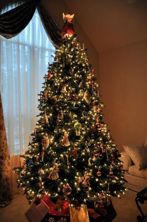 Fan photo of our Balsam Hill Vermont White Spruce. Looking very stunning.