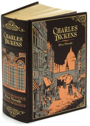 Charles Dickens: Five Novels (Barnes & Noble Leatherbound Classics)