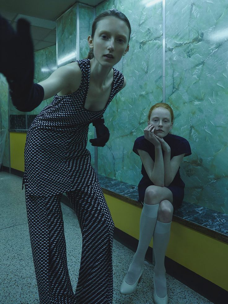 Use of speech shot by Nhu Xuan Hua and styled by Francesca Pinna for Metal