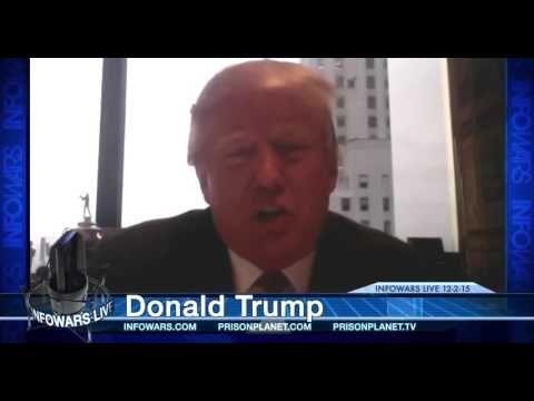 Donald Trump Meets Alex Jones! Full Interview