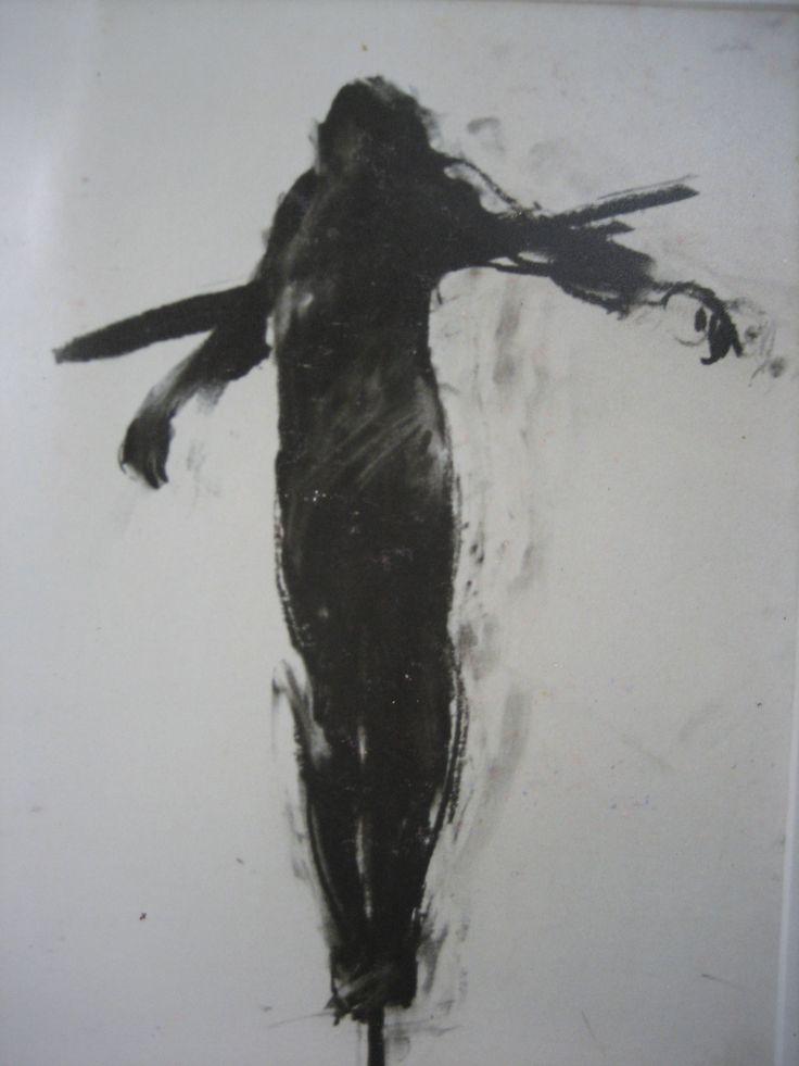 Charlie Mackesy Crucifixion