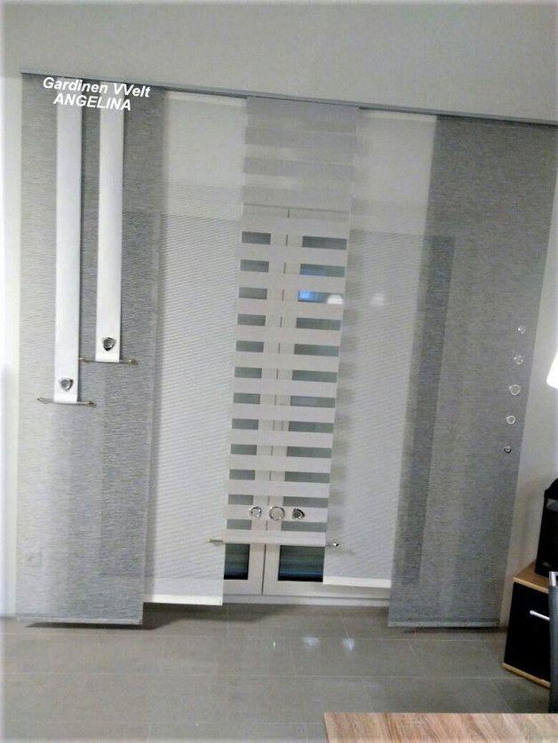Modern Schiebe Gardinen Wohnzimmer