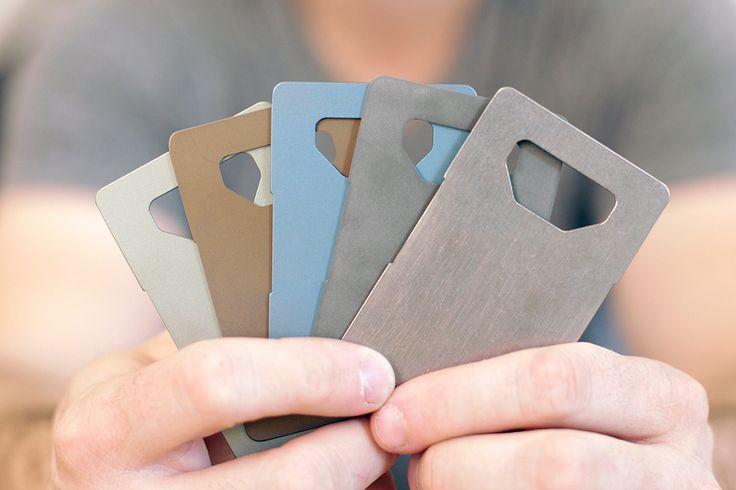 Spine: La cartera minimalista de titanio | Cosas Para Tios #wallet #cartera #bottle #abridor