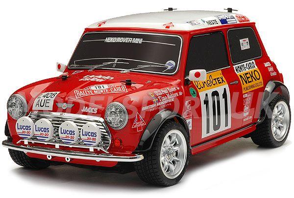 Tamiya Mini Cooper 94 Monte Carlo (M-05) 58483