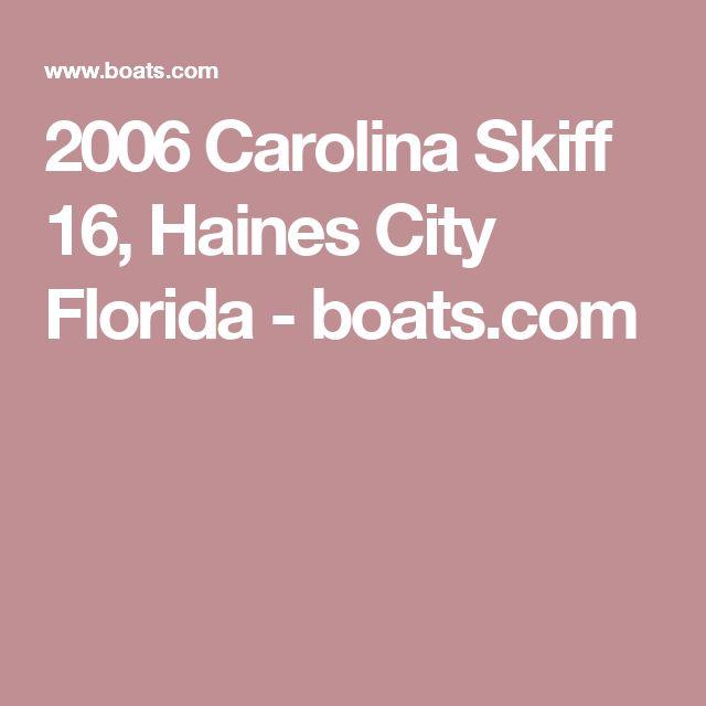 2006 Carolina Skiff 16, Haines City Florida - boats.com