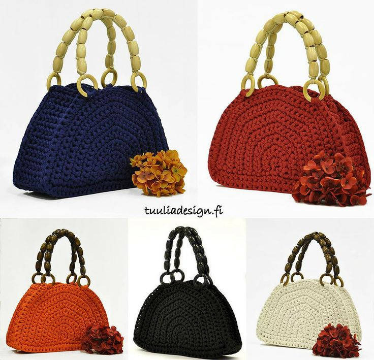 60 best images about trapillo on pinterest trapillo for Bolso crochet trapillo