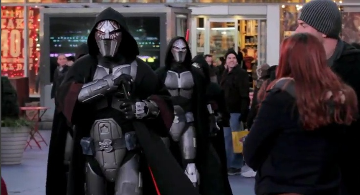An Army of Sith Lords Invade Times Square! - STAR WARS: THE OLD REPUBLIC - News - GameTyrant