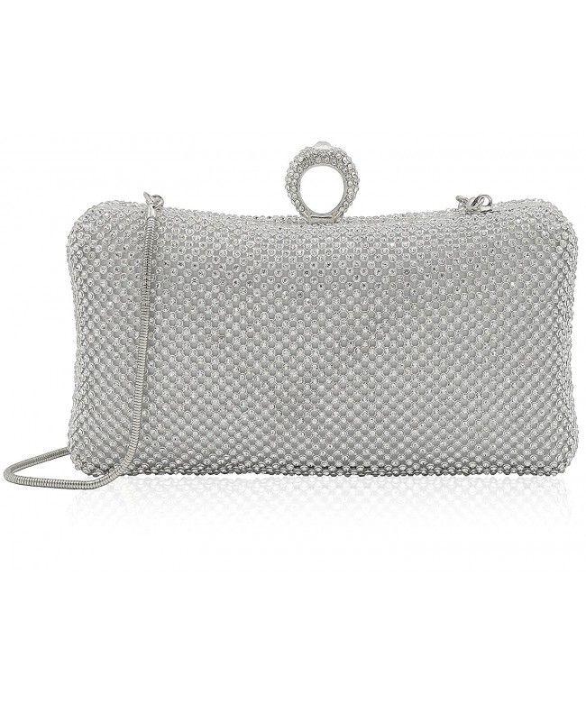 Luxury Crystal Clutches For Women Evening Bag Wedding Party Handbag Purse