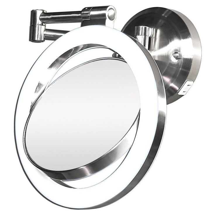 This wall mount bathroom mirror is equipped with a halo light for even  lighting when. 17 Best images about Bathroom Design Ideas on Pinterest   Toilets