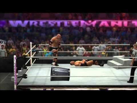 WWE 2K14 : Goldberg vs The Rock . - YouTube