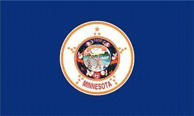 Minnesota State Flag 3x5 3 x 5 Brand NEW Banner USA by State Flag. $1.29. Express International Shipping is Global Express Mail (2-3 days). 2 Metal Grommets For Eash Mounting with Canvas Hem for long lasting strength. 3 Foot by 5 Foot, Indoor-Outdoor, Lightweight Polyester Flag with Sharp Vivd Colors. Express Domestic Shipping is OVERNITE 98% of the time, otherwise 2-day.. FAST SHIPPER: Ships in 1 Business Day; usually the Same Day if pmnt clears by noon CST. 3 f...