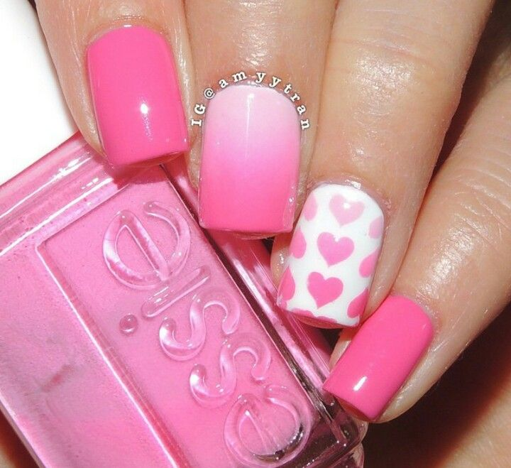 Heart Nail Art: 17 Best Ideas About Heart Nail Art On Pinterest
