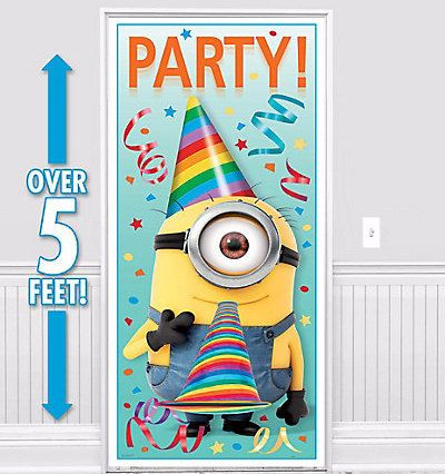 Despicable Me Plastic Door Poster by ElsaPartySupply on Etsy