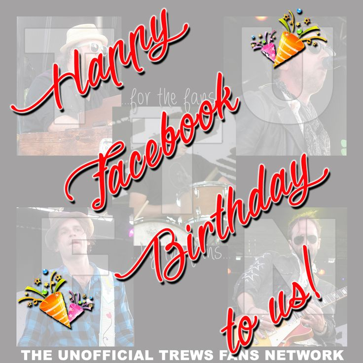 We started our Facebook page six years ago today! Happy Birthday, us!  And thanks to you for sharing your Trews fandom with us.