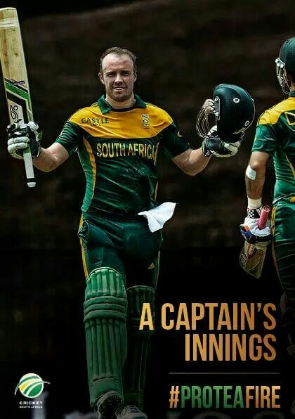 AB de Villiers. Best in the world!