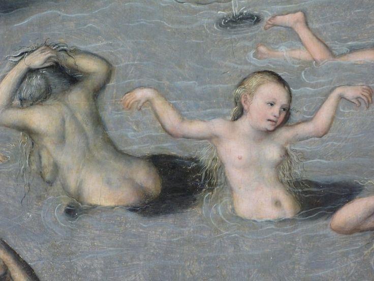 Lucas Cranach, La fontana della giovinezza (dettaglio), 1546