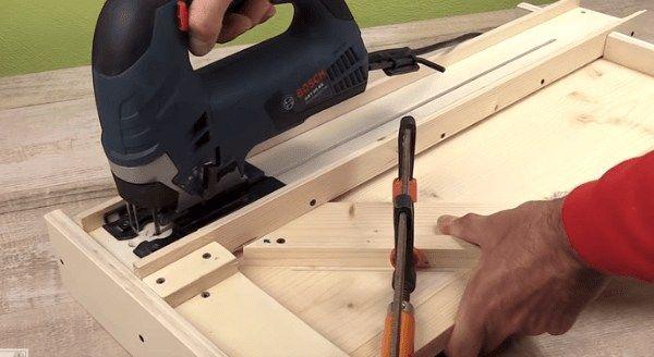 Pin On Top Wood Cutting Saw