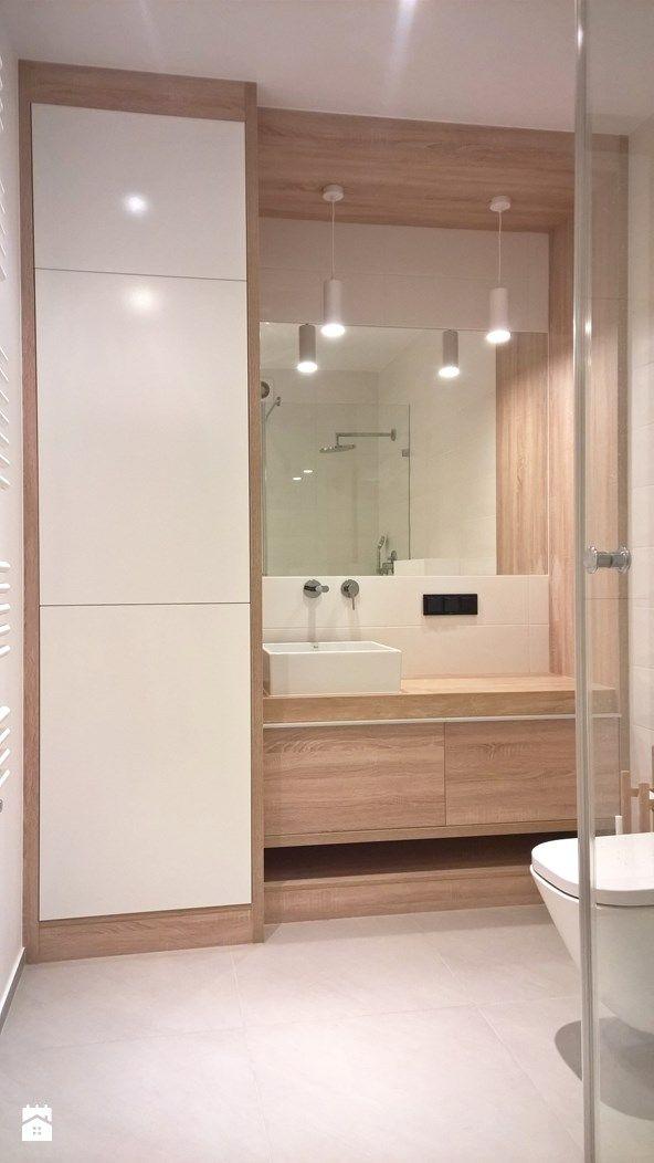 Naturalna łazienka - zdjęcie od Kokon Studio Karolina Alicja Prałat - Kuchnia - Styl Minimalistyczny - Kokon Studio Karolina Alicja Prałat