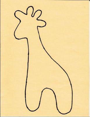 Op vraag het patroon van de giraf. Je print hem af op de grote die je zelf wenst. Uitknippen, overtekenen en naadwaarde toevoegen van 1 cmWaarom overtekenen? Zo is het makkelijker de vorm van de gi…