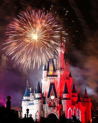 Disney World!: Walt Disney, Cinderella Castles, Disney World, Magic Kingdom, Disney Castles, Disney Parks, Magic Places, Fireworks