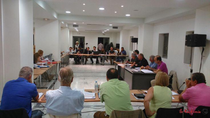 Η συνεδρίαση του δημοτικού συμβουλίου την Τετάρτη 28/9 (Ρεπορτάζ)