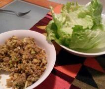 San Choy Bau, contains garlic